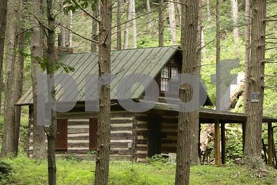 Cabin near Laurel Run vet check