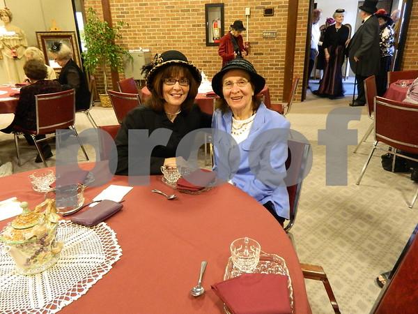 left to right: Kathleen Schreier, and Margaret Walsh
