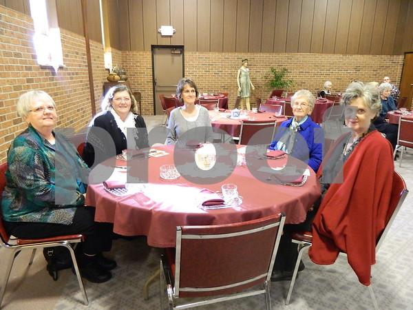 Left to right: Virginia Pagel, Joleen Green, Diane Flaherty, Eunice Lea, Dorothy Lea