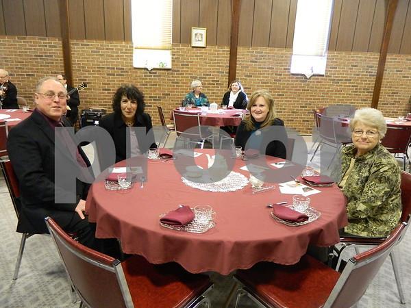 Left to right: John Dyrkaoz, Jan David, Denise Naeve, and Elaine Naeve