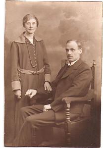 Emma Furnell (nee Baker) and Gilbert Furnell circa 1910.