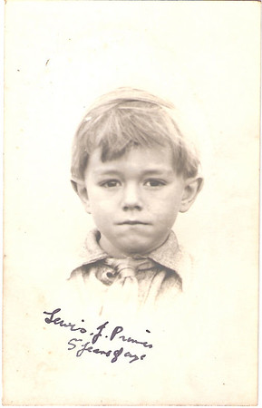 Lewis James Prince aged 5 years