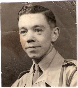 Lance Corporal Lewis Prince, Royal Military Police, circa 1948, Nairobi, Kenya.