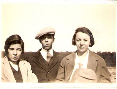 Alice Gear, Fred Gear and Florence Prince (sister and brother of Florence).