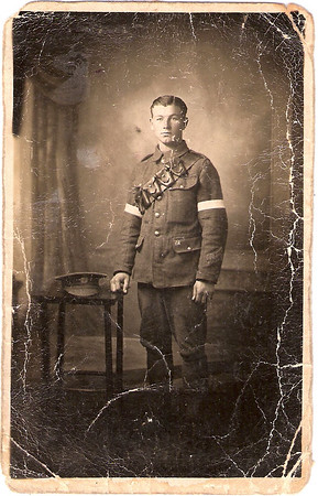 273843 Private Charles Albert Prince, Royal Engineers (Signals) circa 1917.