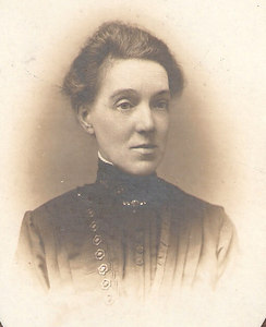 Eleanor Horner (nee Kelsey). Date unknown - possibly around the turn of the 19th/20th century.