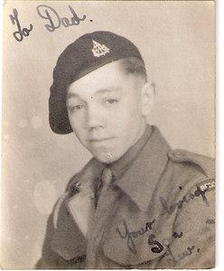 Lewis Prince, Reconnaissance Corps, November 1944.