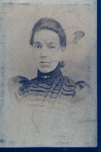 Eleanor Horner (nee Kelsey) circa 1900.