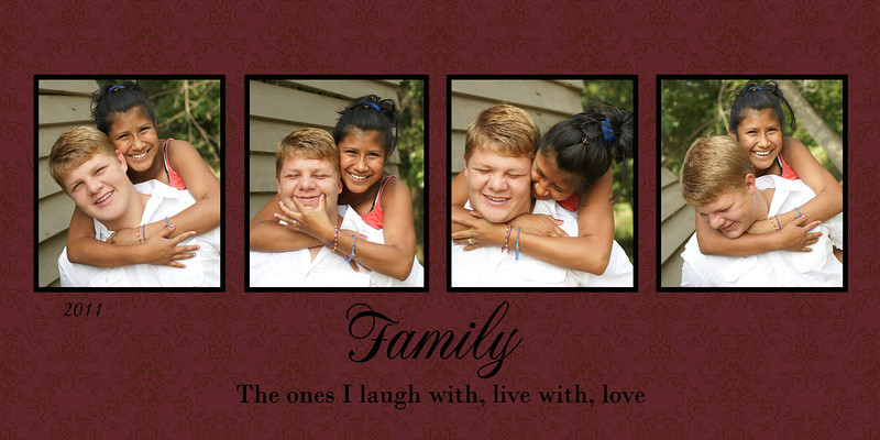 McNeil Family 10x20 5x10 cranberry