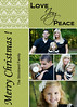 strickland love joy peace in green 5x7