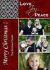 strickland love joy peace in red black 5x7