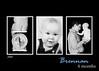 3 photo black and white 5x7 8x10