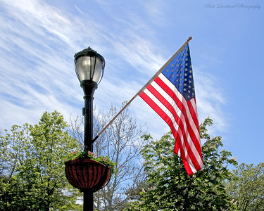 Beautiful American Flag in Glen Cove,NY.