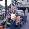 Sept. 72/ Cindy, Jeff, Michele, and I meet in Bar Harbor Maine.