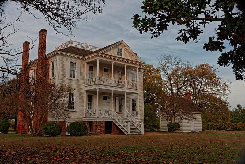 Hope Plantation House, Bertie County 1763