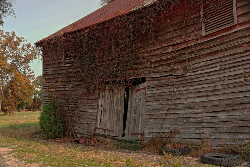 Another view of Elliott's Barn