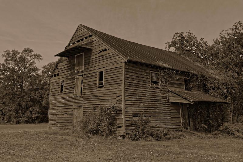 Elliott Barn, Virginia Road, Chowan County