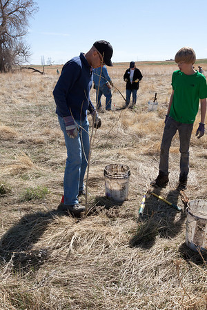 April 7, 2012 Wildlands Restoration Volunteers  Senac Creek, Colorado A photographic journal  View Photos
