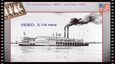 VIDEO:  ( 5 1/4 mins )  Early America