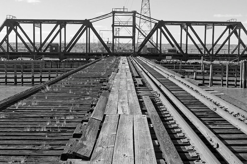 Abandoned Railroad Swing Bridge<br /> ©2012 Peter Aldrich