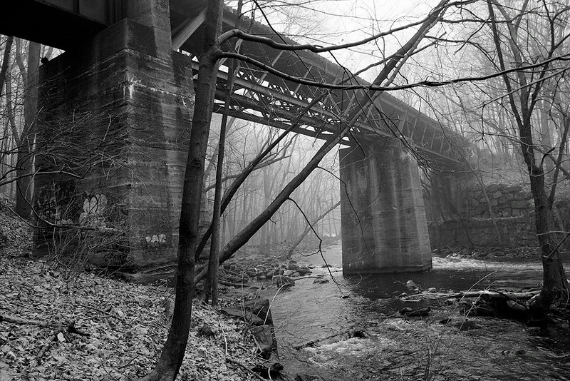 Abandoned Lackawanna Railroad Bridge<br /> ©2004 Peter Aldrich