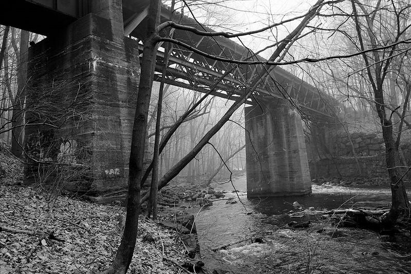 Abandoned Lackawanna Railroad Bridge<br /> ©2004 Peter Aldrich