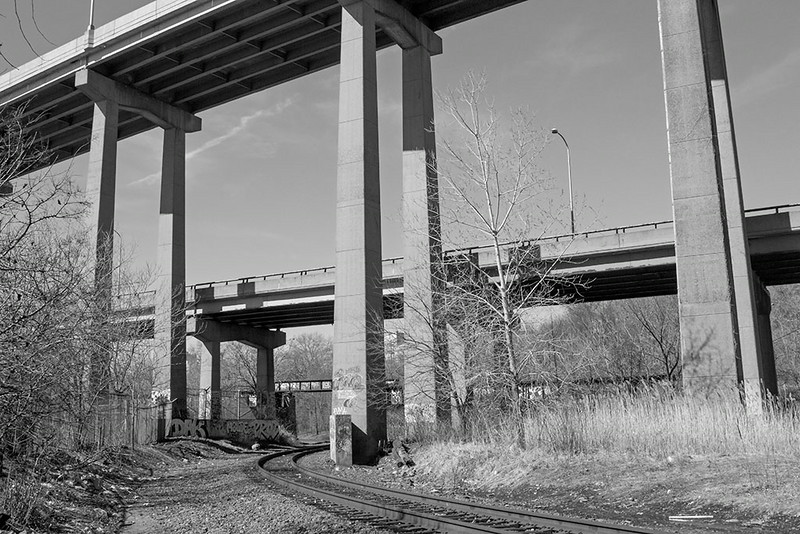 Crossing Under I-78<br /> ©2014 Peter Aldrich
