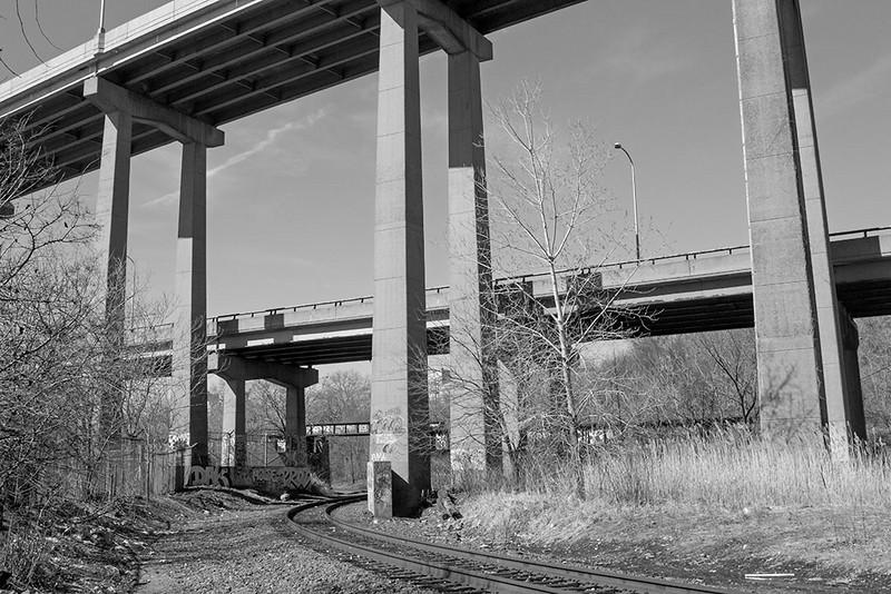 Crossing Under I-78<br /> ©2014 Peter Aldrich