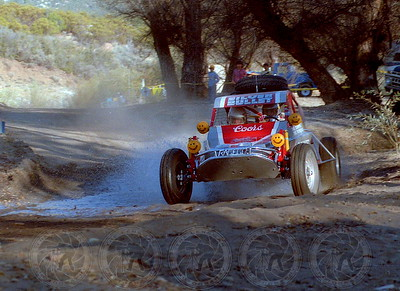 1984 Baja 1000 Steve Sourapas 4th overall in a class 10 Raceco