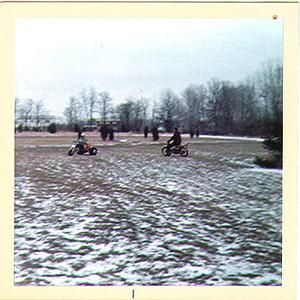 3 Wheelers in the back field