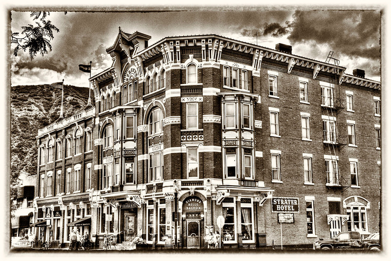 Our Durango hotel built in 1887