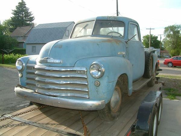 1949 Chevy 3600, taken 7-10-2006