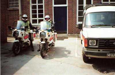 Me and Greg, Plympton Police Station.