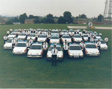 """The D&C Traffic Division units deployed for the Queen's visit to Torbay to celebrate the 400th Anniversary of the """"Glorious Revolution"""" *the landing of William of Orange). I'm in there somewhere."""