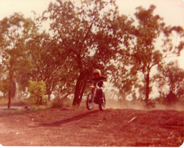 Circa 1982<br /> YZ 80, <br /> Katherine, N.T.