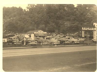 Lyle Helgason's car lot
