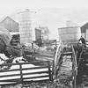 Joe Von Arx farm by Hokah before the old barn burned.