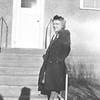 Irene Von Arx - outside the house in Hokah