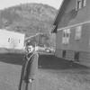 Irene Von Arx- outside her parent's house in Hokah, MN.