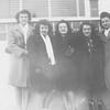 Mary Sauer, Lavonne Walcker, Ardith Ann Engstler, Irene Von Arx, Margaret Lee (married Imhof), and Rita Von Arx