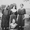 Kate (Von Arx) Boma, Sister Joachim (Sophie Von Arx), Bertha Von Arx and Verna (Von Arx) Hutzenbuhler?