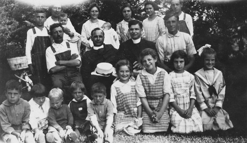 Sunday around 1922  - Von Arx and Langen family