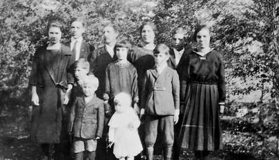 William Langen and Katie Von Arx Langen and their family