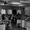 The Oceanic Ops Room at Redbrae. The woman to the left could be Betty McCaig and the farthest away controller could be Ian Fraser