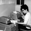 Teleprinter Operator,  Margaret McKenzie