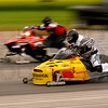 One of the drag sleds that competed in the Timiskaming Drag 'N Fly drag races, held in Earlton, Ontario on August 9, 10, and 11 of 2008 at the Earlton airport.