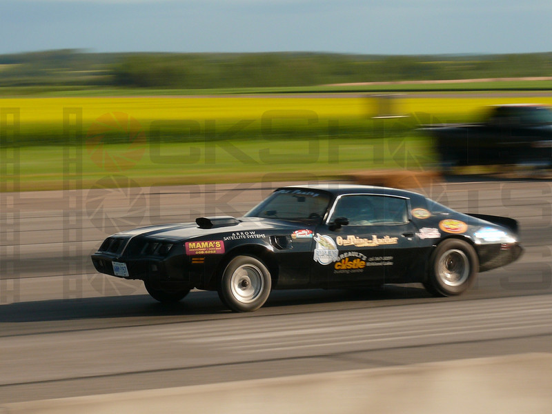 One of the Sportsman Class cars that competed in the Timiskaming Drag 'N Fly drag races, held in Earlton, Ontario on August 9, 10, and 11 of 2008 at the Earlton airport.