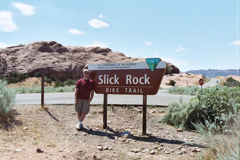 Slick Rock trailhead - Moab, Utah
