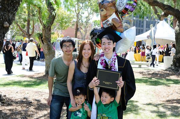 Oliver's Graduation 2011 CSULB
