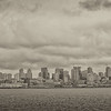 View of Downtown Seattle from the Bainbridge Ferry